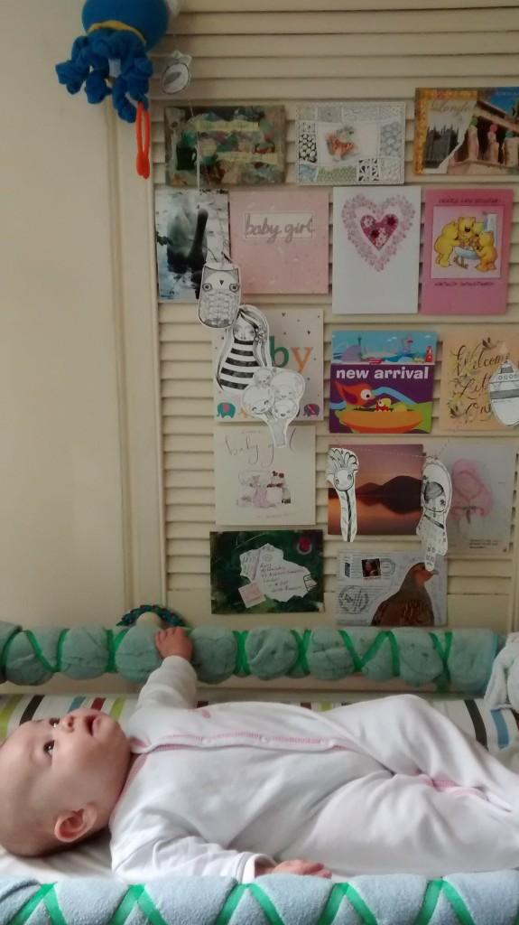 baby REAL wall